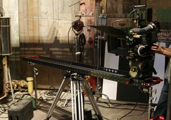 A 6-Foot Slider on sticks creates dynamic shots in a flash