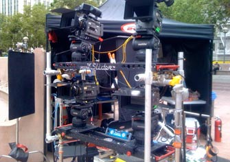 A couple of Sliders at work for production company Philote Factory, Inc.