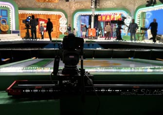 The Motorized Slider working on The Price is Right.