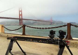 Shooting the Golden Gate Bridge with The Slider